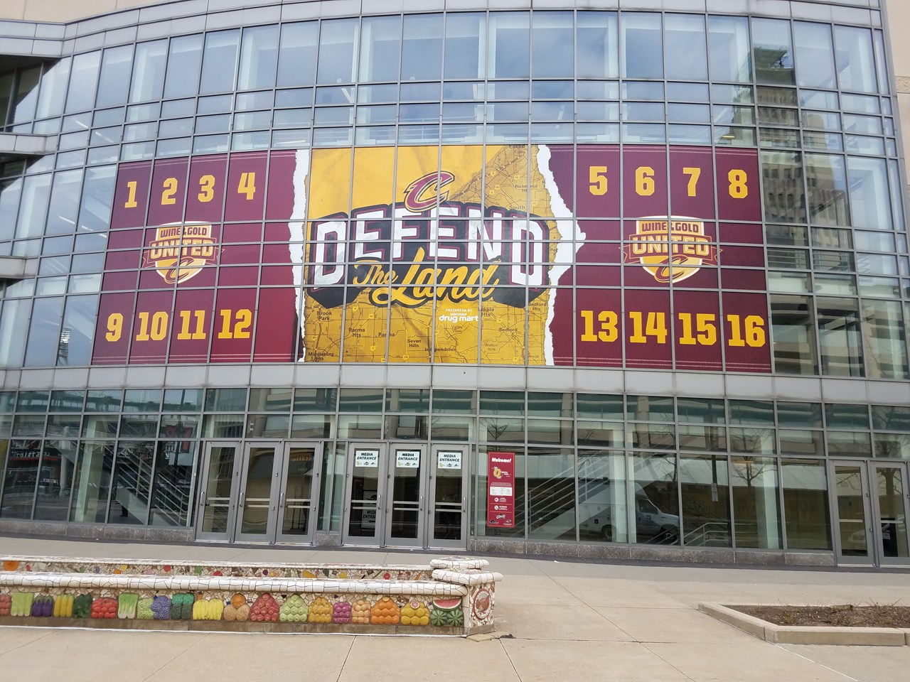 Sports-Facility- Cavs Playoffs Countdown
