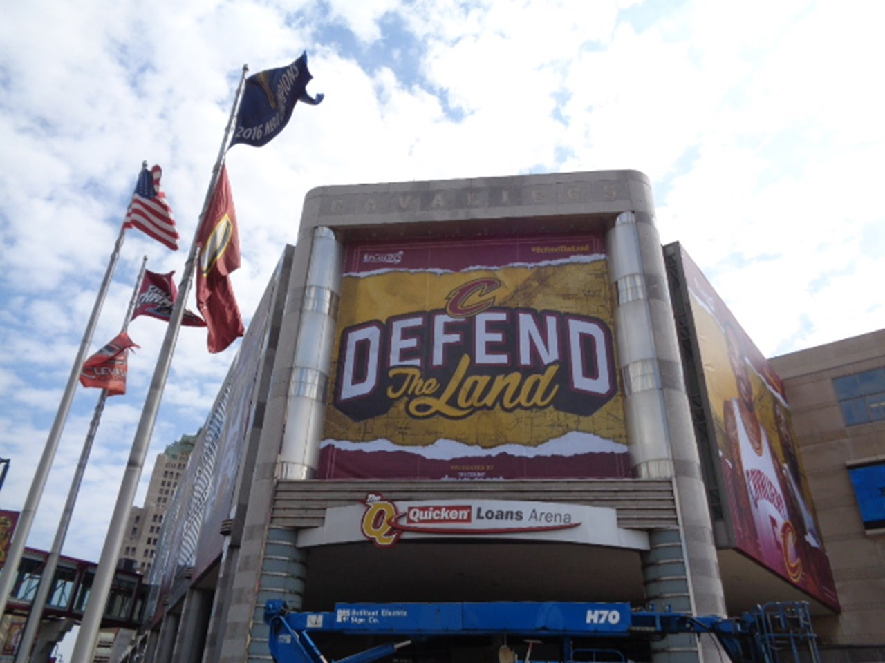 Sports- Facility- The Q Arena- Defend The Land