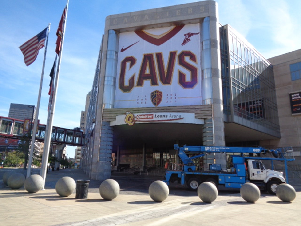 Sports- Facility- The Q Arena- Cavs